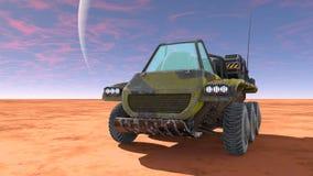 Buggy car. 3D CG rendering of a buggy car Royalty Free Stock Photos