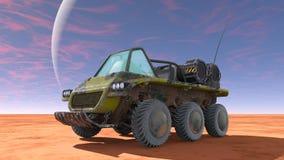 Buggy car. 3D CG rendering of a buggy car Stock Photos