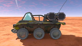 Buggy car. 3D CG rendering of a buggy car Stock Photography