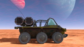 Buggy car. 3D CG rendering of a buggy car Royalty Free Stock Image