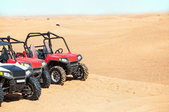 Buggy Car In Desert Safari Royalty Free Stock Photography
