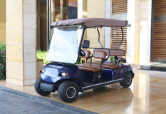 Buggy car In a hotel Stock Images