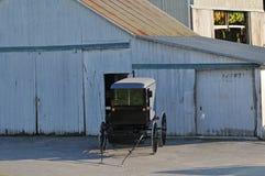 Buggy de Amish foto de stock royalty free