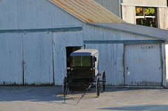 Buggy dei Amish fotografia stock libera da diritti