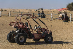 Buggy in desert Royalty Free Stock Photos