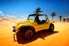 Buggy do deserto foto de stock royalty free
