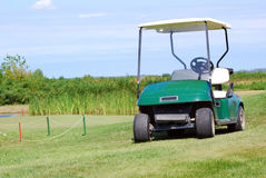 Buggy do golfe fotografia de stock