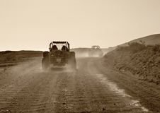 Buggy driving scenery Stock Image