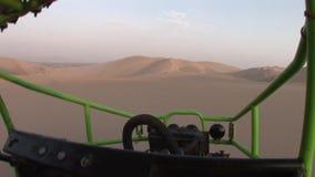 Buggy in Dunes, Peru Stock Photo