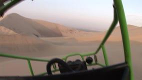 Buggy in Dunes, peru Royalty Free Stock Image