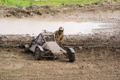 Buggy Race, Car Wreck Royalty Free Stock Photos