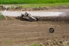 Buggy Race, Car Wreck Stock Image