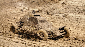 Buggy racing Royalty Free Stock Photography