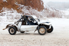 Buggy racing Royalty Free Stock Photo