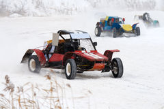 Buggy racing Stock Photography