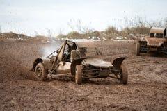 Buggy racing Stock Image