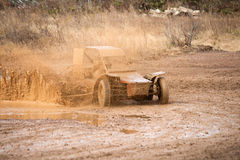 Buggy racing Royalty Free Stock Images