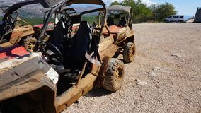 rotten buggies for a cruise in croatia Stock Photo