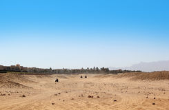 Buggy safari in Egypt. Extreme off road racing. Desert delight Royalty Free Stock Images