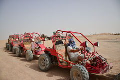 Buggy safaris in the desert of Africa Stock Photo