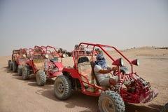 Buggy safaris in the desert of Africa Stock Photo