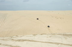 Buggy sand riding Royalty Free Stock Photos