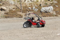 Buggy tour Stock Images