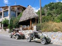 Buggy tour on Crete island, Greece royalty free stock photos