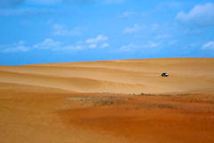 Buggy in a tropical dune Royalty Free Stock Image