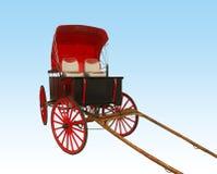Buggy vermelho fotografia de stock