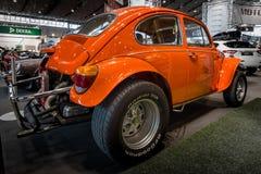 Buggy Volkswagen Beetle Hazard Baja, 1970. STUTTGART, GERMANY - MARCH 02, 2017: Buggy Volkswagen Beetle Hazard Baja, 1970. Europe`s greatest classic car stock images