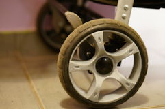 Buggy wheel Royalty Free Stock Photo