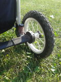 Buggy wheel Stock Photography