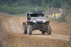 Buggy and 4x4 at 24 hours TT of France Stock Photo