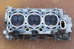 Bugie della testata di cilindro Fotografie Stock