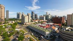 BUGIS, SINGAPORE - MAY 25, 2014: Time lapse movie of busy Bugis area in Singapore. Stock Photos