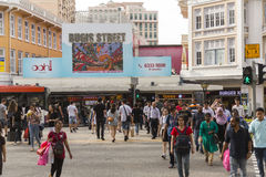 Bugis street in Singapore. Bugis, in Singapore, was renowned internationally from the 1950s to the 1980s for its nightly gathering of trans women, a phenomenon Royalty Free Stock Image