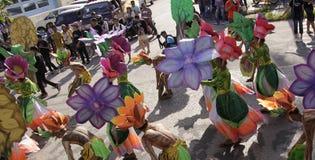 Buglasan παρέλαση χορού φεστιβάλ 2014 πολιτιστική Στοκ εικόνα με δικαίωμα ελεύθερης χρήσης