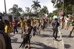 Buglasan Festival 2014 Cultural Dance Parade Stock Images