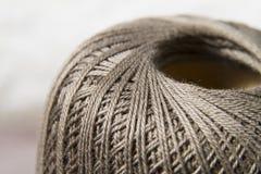Bugna del filo del cotone Fotografia Stock
