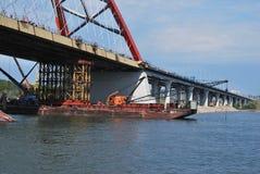 Bugrinskij bridge Stock Images