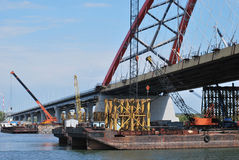 Bugrinskij bridge Stock Photography
