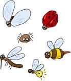 bugs шарж милый Стоковые Изображения