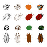 bugs ilustración del vector