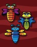 Bugs cartoon Stock Photography