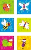 Bugs illustration Royalty Free Stock Photos