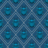 Bugs pattern Royalty Free Stock Images