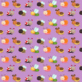 Bugs Pattern Background Stock Photos