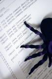 bugs programvara Royaltyfria Foton