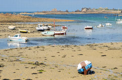 Bugueles french brittany Royalty Free Stock Photos